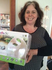 Barbara with the S2 donated to the Warrnambool Breastfeeding Centre